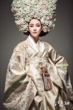 한복 Hanbok / Bridal: vogue look