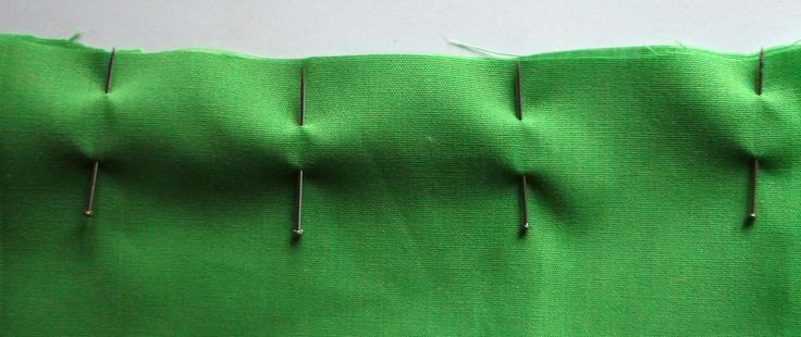 How to sew a basic open seam