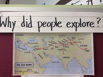 4th Grade Class Website:  Integrating math and science with social studies (Trading Routes)