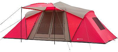 12 Person Man Instant Tent 3 Room Family Camping Gear Loft RainFly Awning 10 8 6 http://campingtentlovers.com/best-pop-up-tents/