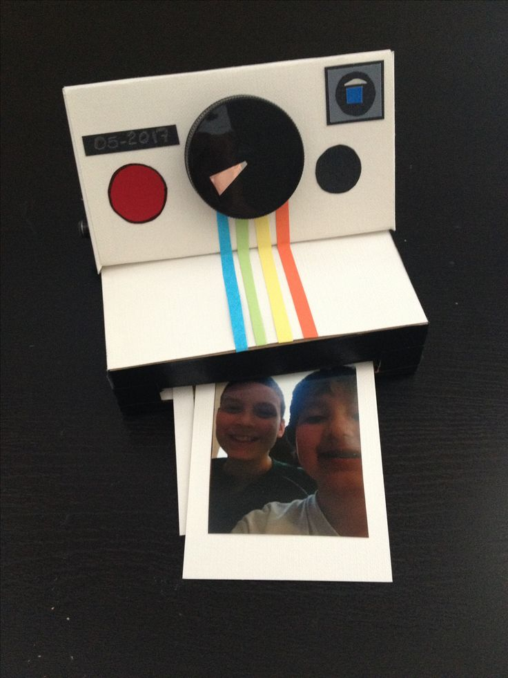 DIY Paper polaroid camera