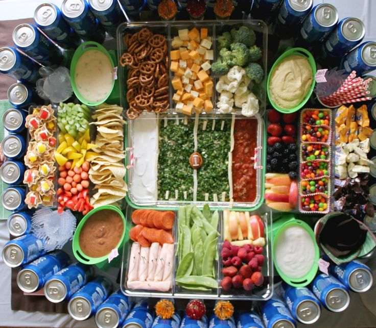 Step by step video instructions for building your own epic Football Snack Stadium #gamedayglory