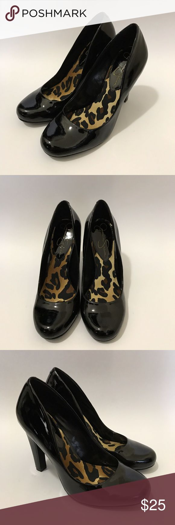 Jessica Simpsons High Heels Only worn once for my sister's interview. Perfect for semi - formal or formal occasions, and business attire. In great condition. Jessica Simpson Shoes Heels