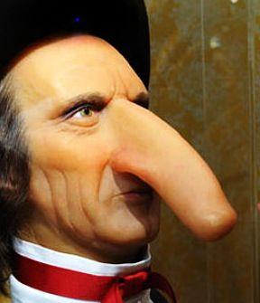 Long Noses  = BIG hoses!