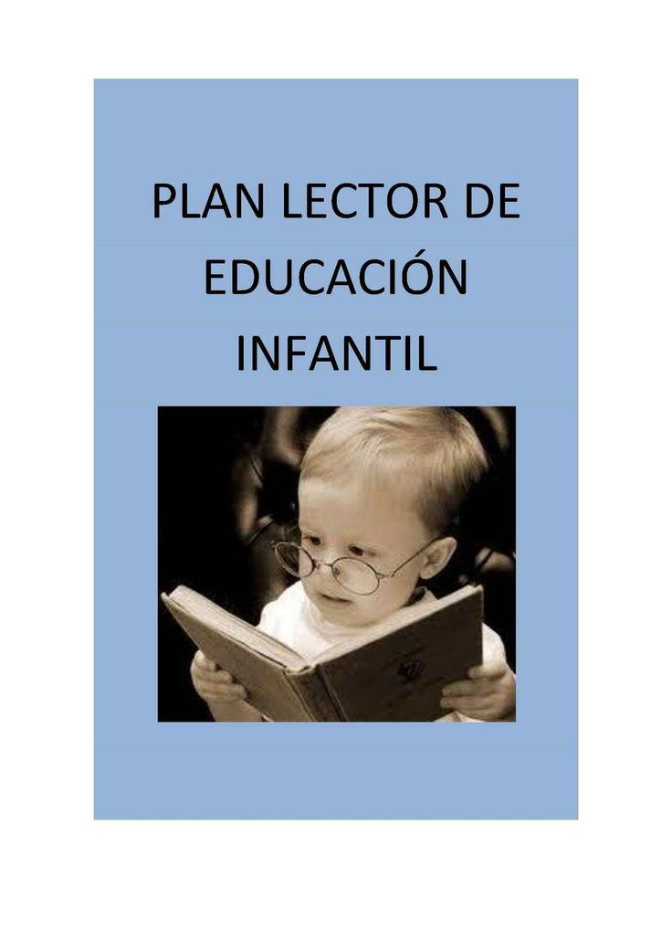 PLAN LECTOR DE EDUCACIÓN INFANTIL
