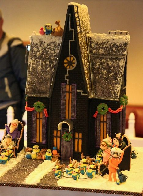 So Great Despicable Me Gingerbread House Contest At