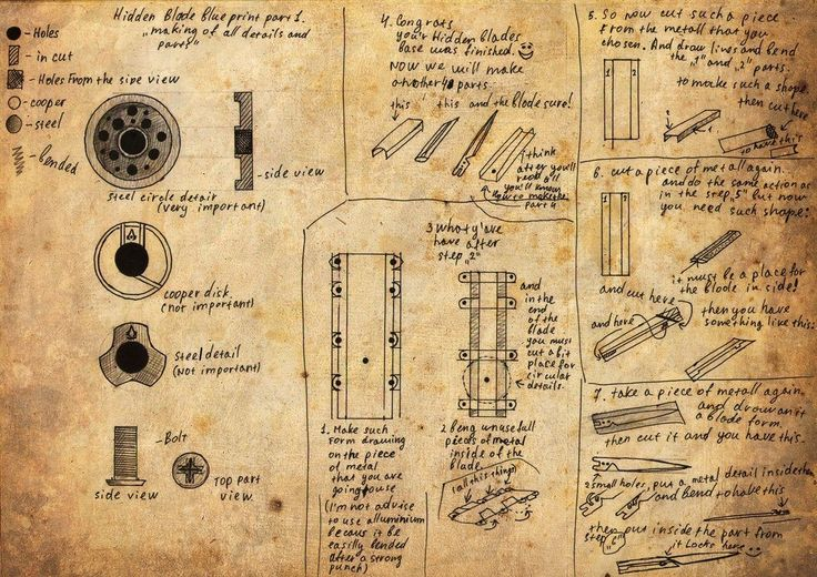 Hidden Blade blueprint