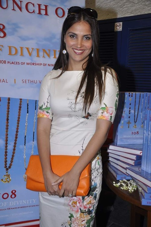 Lara Dutta at Anju Poddar's '108 Shades of Divinity' Book Launch