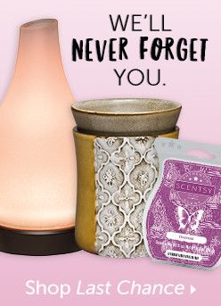 Last chance to buy certain products, today only! Contact me for more info at www.andriasavage.scentsy.com.au