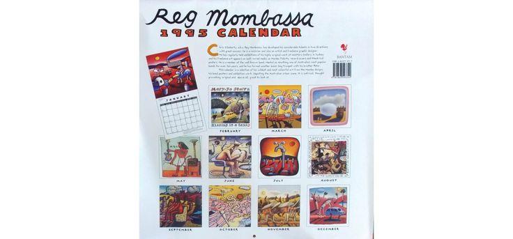1995 Reg Mombassa Calendar The Aristocracy Of The Normal