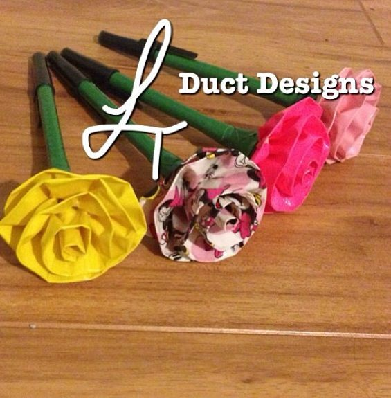 77 best duct tape ideas images on pinterest duct tape for Super easy duct tape crafts