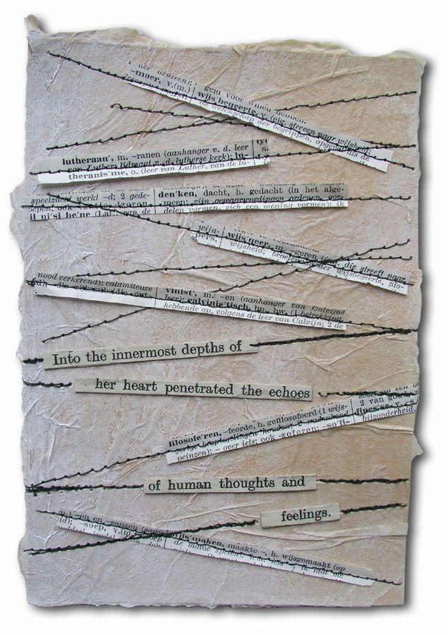 Art Journaling en Mixed Media :: Onderwerp bekijken - 'Letters from theWasteland' - twaalfde brief