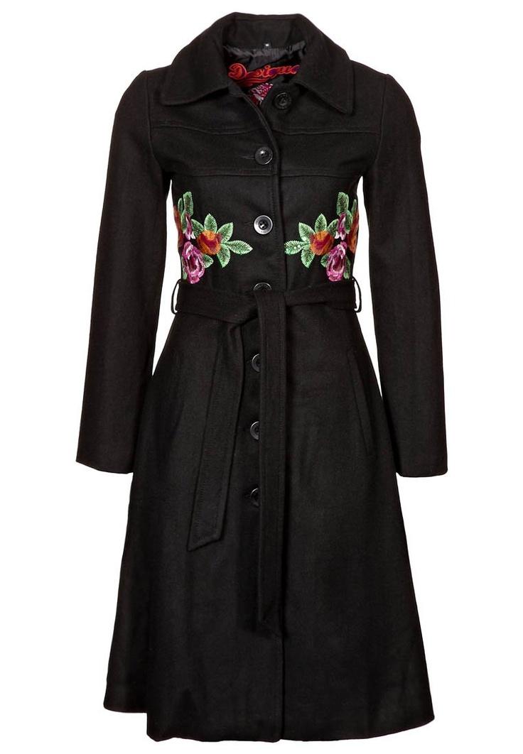 Desigual - SADALO - Wollmantel - negro - a coat to fall in love. All over again! :)
