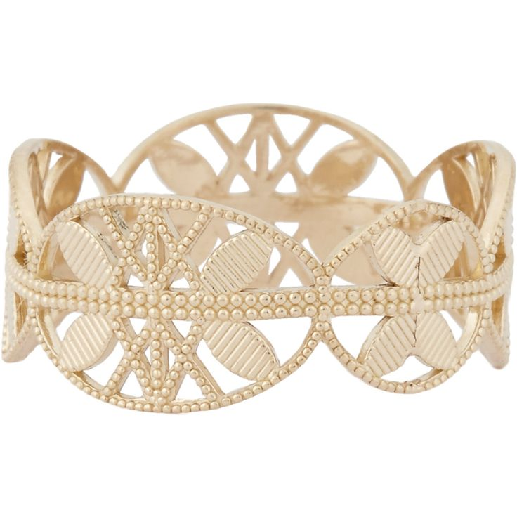 Grace Lee Gold Lace Aztec Ring at Barneys.com