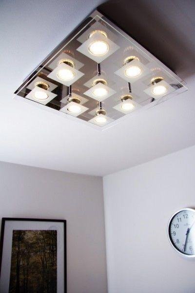plafonnier led design carr lampe suspension lustre lampe de s jour grise 79177 id es pour la. Black Bedroom Furniture Sets. Home Design Ideas