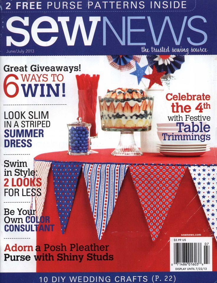 Sew News - June/July 2013