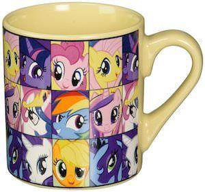 My Little Pony Head Collage Mug #MLP