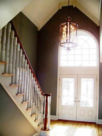 11 best images about foyer paint on pinterest foyer for Popular foyer colors