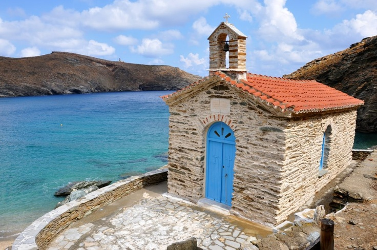 GREECE CHANNEL | Panagia Thalassini church in Andros.
