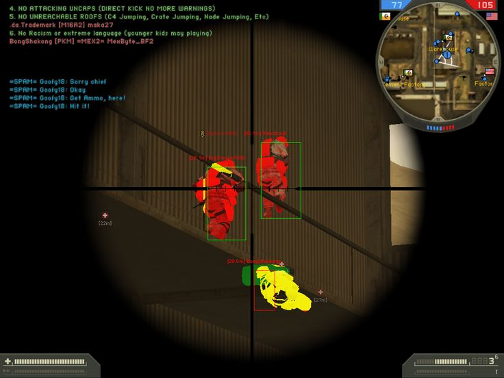 Battlefield 2 Hacks - Aimbot