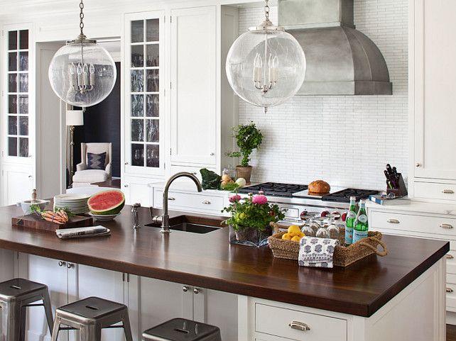 kitchen kitchen ideas kitchen cabinet white kitchen with butcher 39 s block countertop island. Black Bedroom Furniture Sets. Home Design Ideas