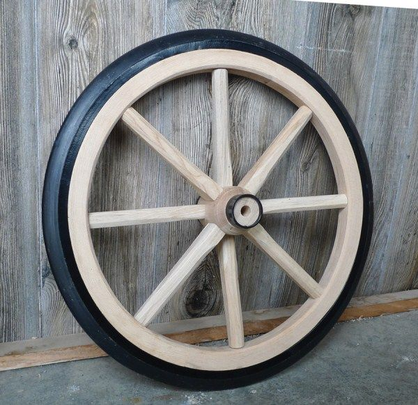 how to restore wooden wagon wheels 1