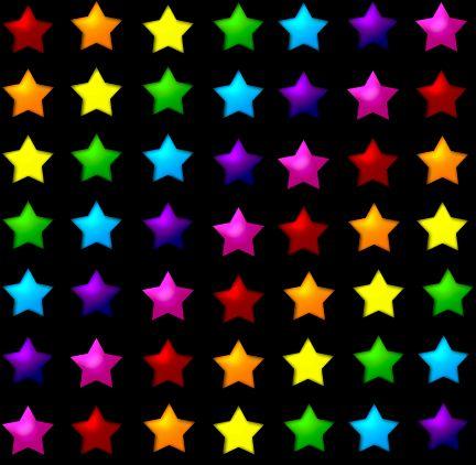 Stelle da parati dai colori vivaci - Imagui