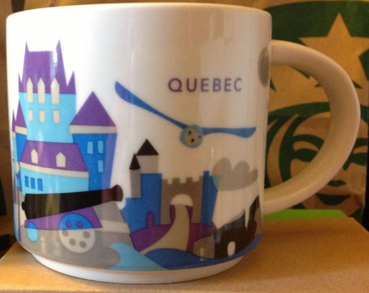 Starbucks Quebec You Are Here Collection Mug