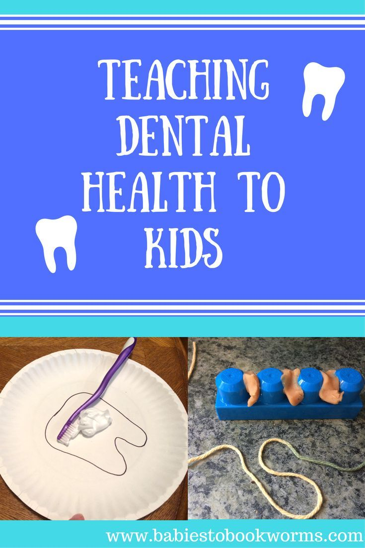 Teach kids about dental health with The Brushies and some fun tooth related activities!    Tooth Crafts | Flossing Teeth for Kids | Dental Health for Kids