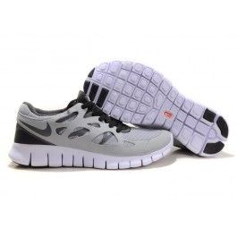 Neue Ankunft Nike Free Run+ 2 Lichtgrau Schwarz Unisex Schuhgeschäft    Verkaufen Nike Free Run+ 2