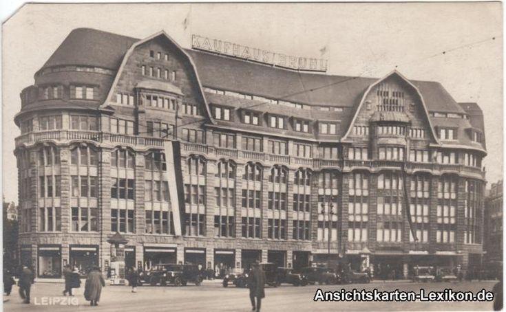 Kaufhaus Brühl, 1932.