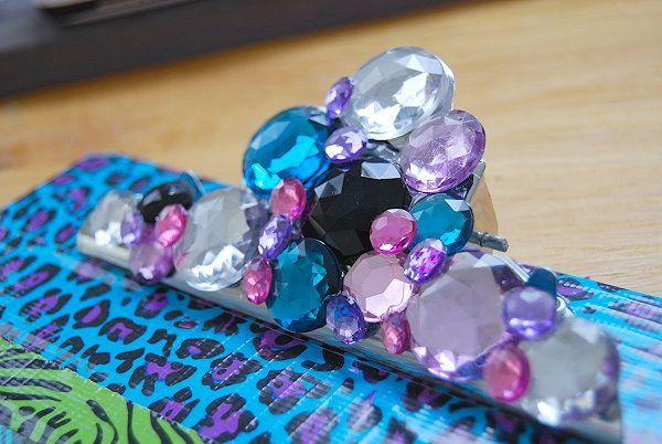 duct tape, duck tape,clipboard, legal size clipboard, teacher gift, diy, ruffles, glitter, gems, fancy, bling, sparkle, bright colors, teen, crafts, teen crafts