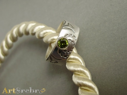 Ring silver art