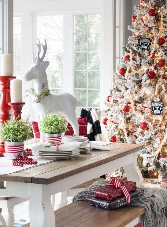 Decoracion Terrazas Navidad ~ Navidad, Decoraci?n navide?a, mesa de navidad, colores navide?os