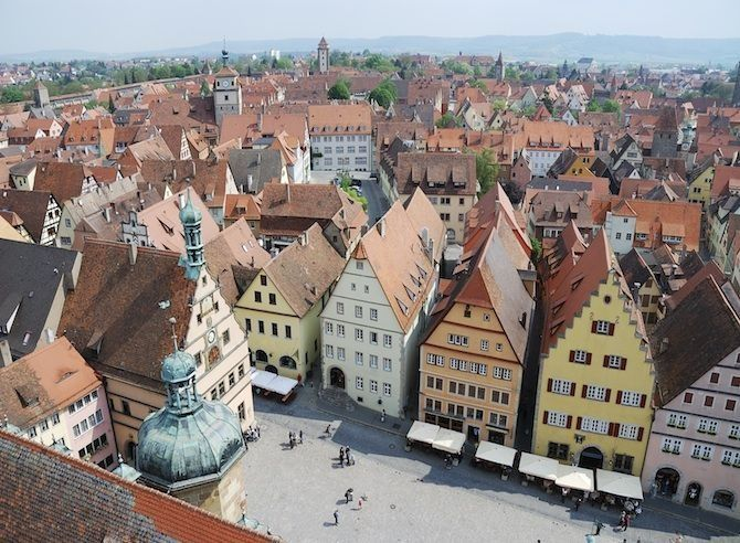 De 50 meest geliefde bezienswaardigheden in Duitsland