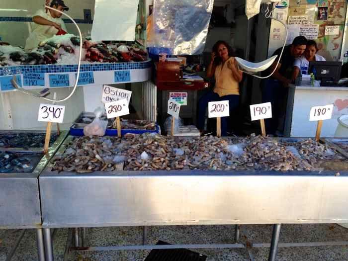 Fish market in Puerto Vallarta. #travel #mexico mexicanfoodjournal.com