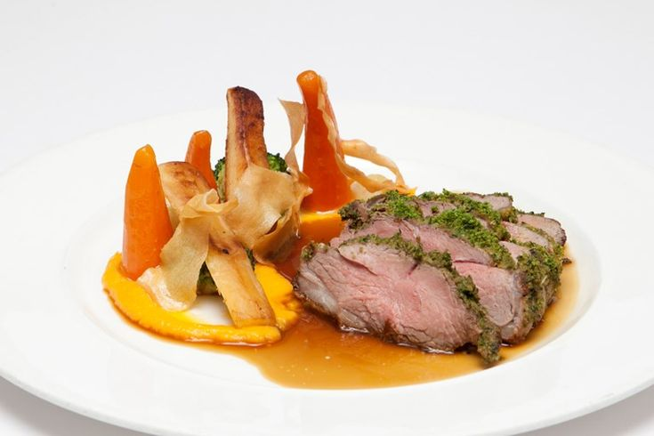 Pierre Koffmann's classical lamb with butternut squash recipe makes a delicious main for a winter dinner party