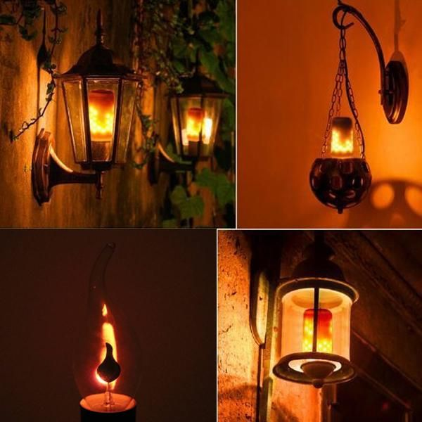 Stay Warm And Cozy This Winter With Our Amazing Flame Effect Bulbsare You Sick And Tired Of Those L Decorative Light Bulbs Landscape Lighting Design Light Bulb