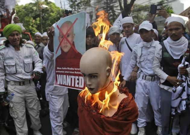 Image result for The Anti-Rohingya LeaderMonk