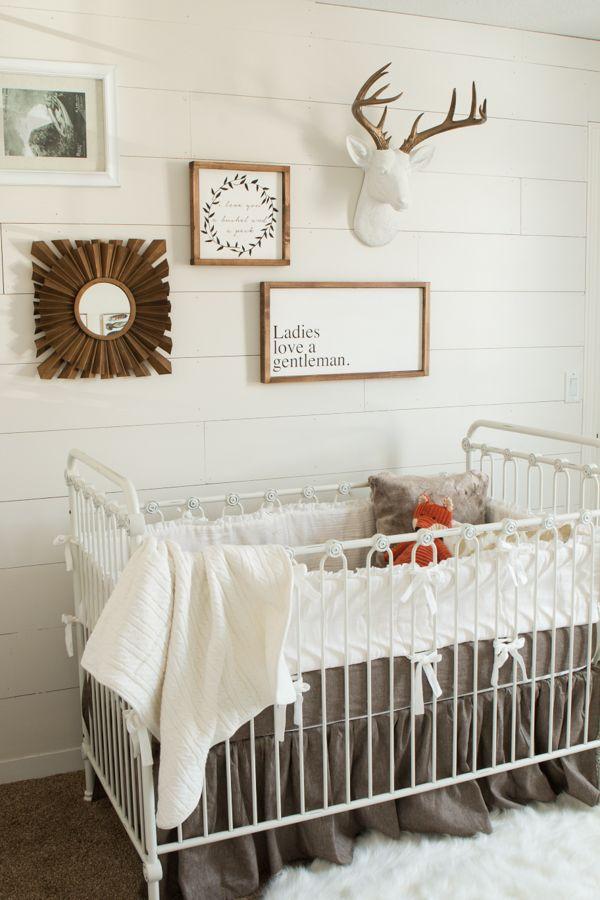 Baby Boy Nursery Ideas - Oh Sweet Basil