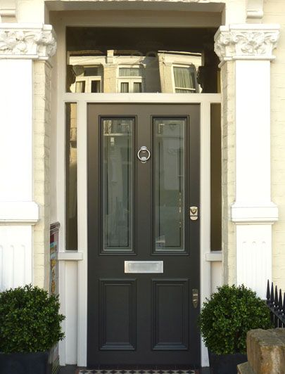 Edwardian Door with modern twist