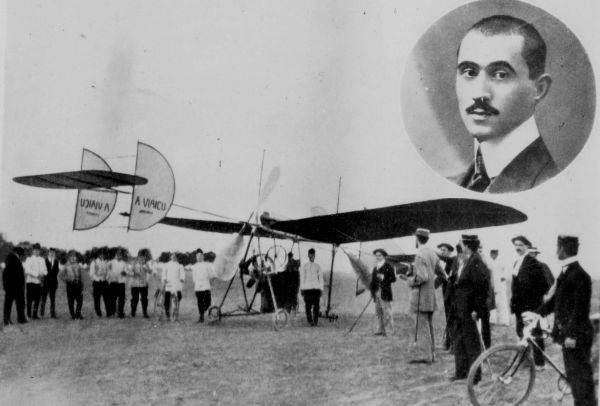 Aurel Vlaicu was born in the village of Binţinţi (now Aurel Vlaicu) near Geoagiu, Transylvania -After working at Opel car factory in Rüsselsheim, he returned to Binţinţi and built a glider he flew in the summer of 1909. Later that year he moved to Bucharest in the Kingdom of Romania, where he began the construction of Vlaicu Nr. I airplane that flew for the first time on June 17, 1910 over Cotroceni airfield. Vlaicu built three original, arrow-shaped airplanes.