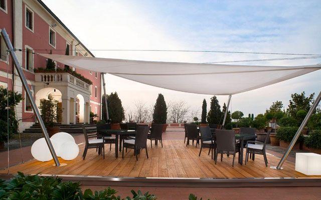 25 melhores ideias sobre toldos vela no pinterest copa - Toldos de tela para terrazas ...