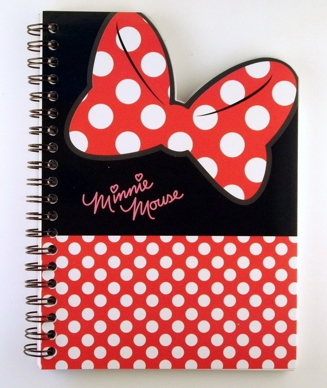 janetstore.com: kawaii stationery,letter sets, stickers, gifts and more - Disney Minnie mouse notebook 8809312677069