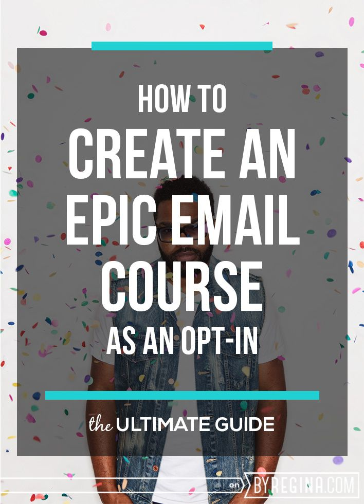 If you want to learn how to create an email course that you can use as an opt-in for your email list, this is the free resource for you.