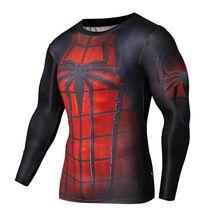 De crime spiderman camisa super herói capitão américa homem de ferro 3 d superman camisa de manga longa de vestuário de ginástica //Price: $US $9.60 & FREE Shipping //    #homemformiga #marvel