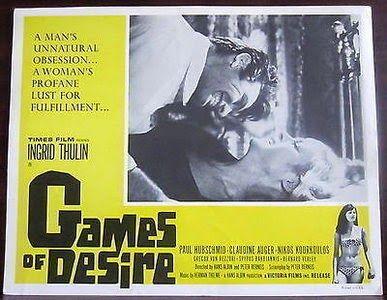 Games of Desire (1964) Stars: Claudine Auger, Cecilie Gelers, Eric Helgar  ~  Directors: Hans Albin, Peter Berneis