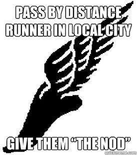 Distance Running Meme