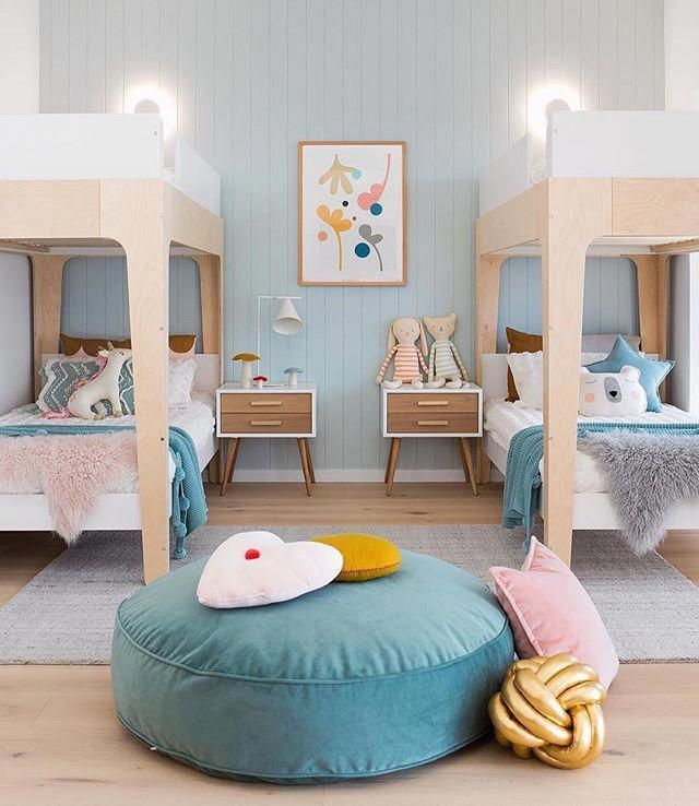 Perch Bunk Bed Twin Size In 2020 Shared Kids Room Kid Room Decor Kids Bedroom
