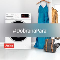 #DobranaPara #pralka #laundry #agd #design #Amica www.amica.pl/pralki